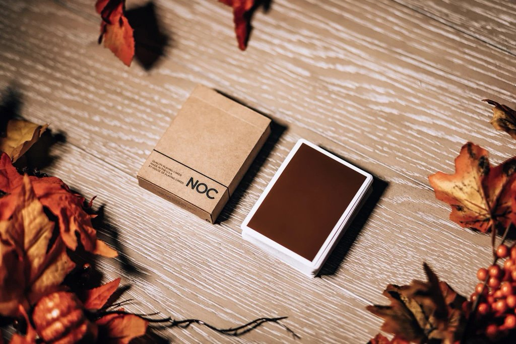 NOC on Wood Brown Playing Cards Alex Pandrea Alt6