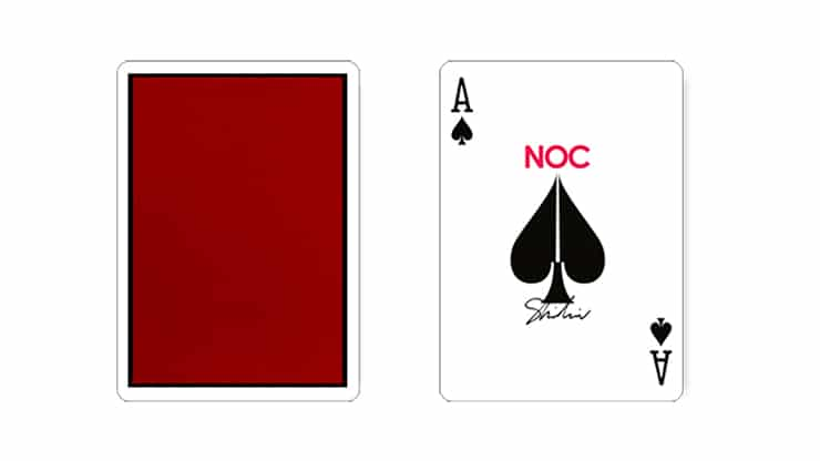 NOC x Shin Lim Playing Cards Alt2