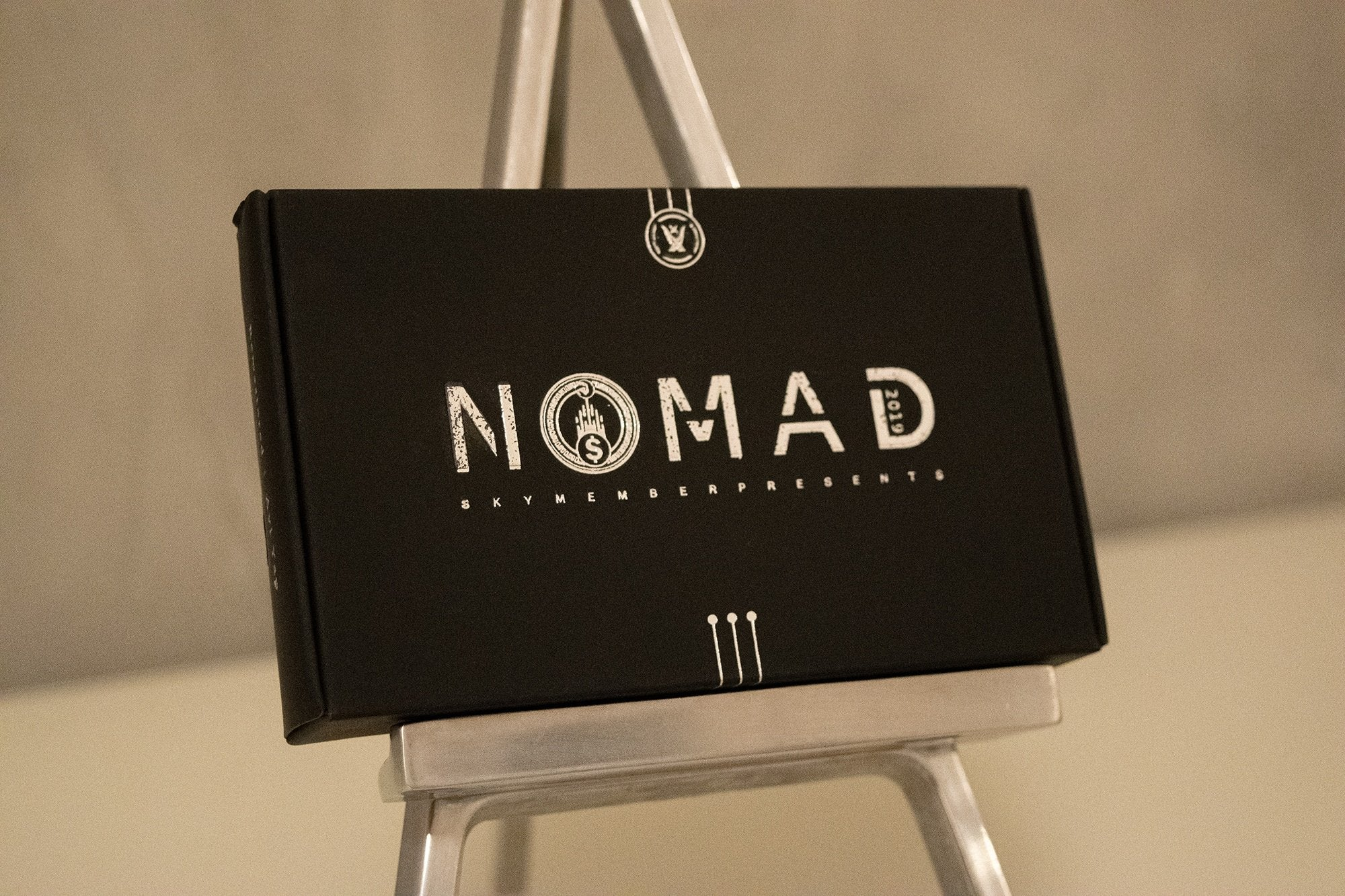 NOMAD Bitcoin Silver Trick Galerie