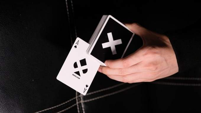 Nihilism Playing Cards Hanson Chien Alt7