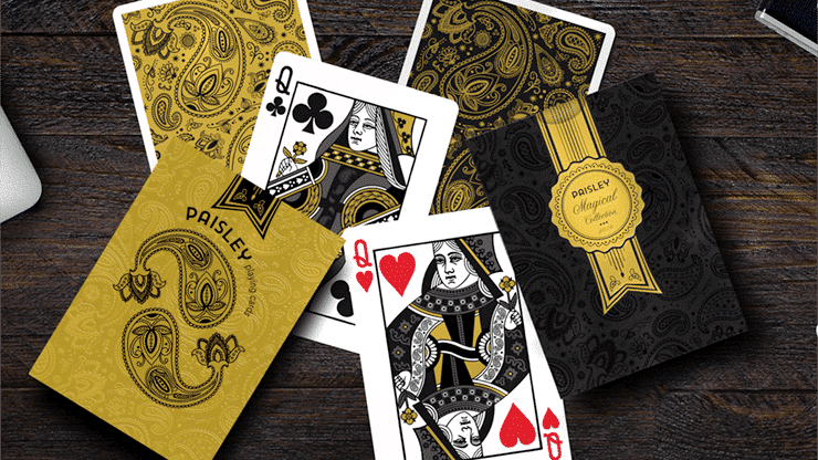 Paisley Magical Gold Playing Cards Alt5