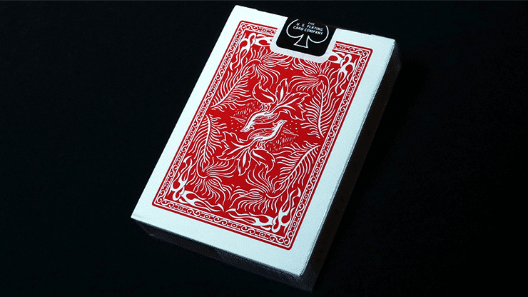 Phoenix Playing Cards Red Alt2
