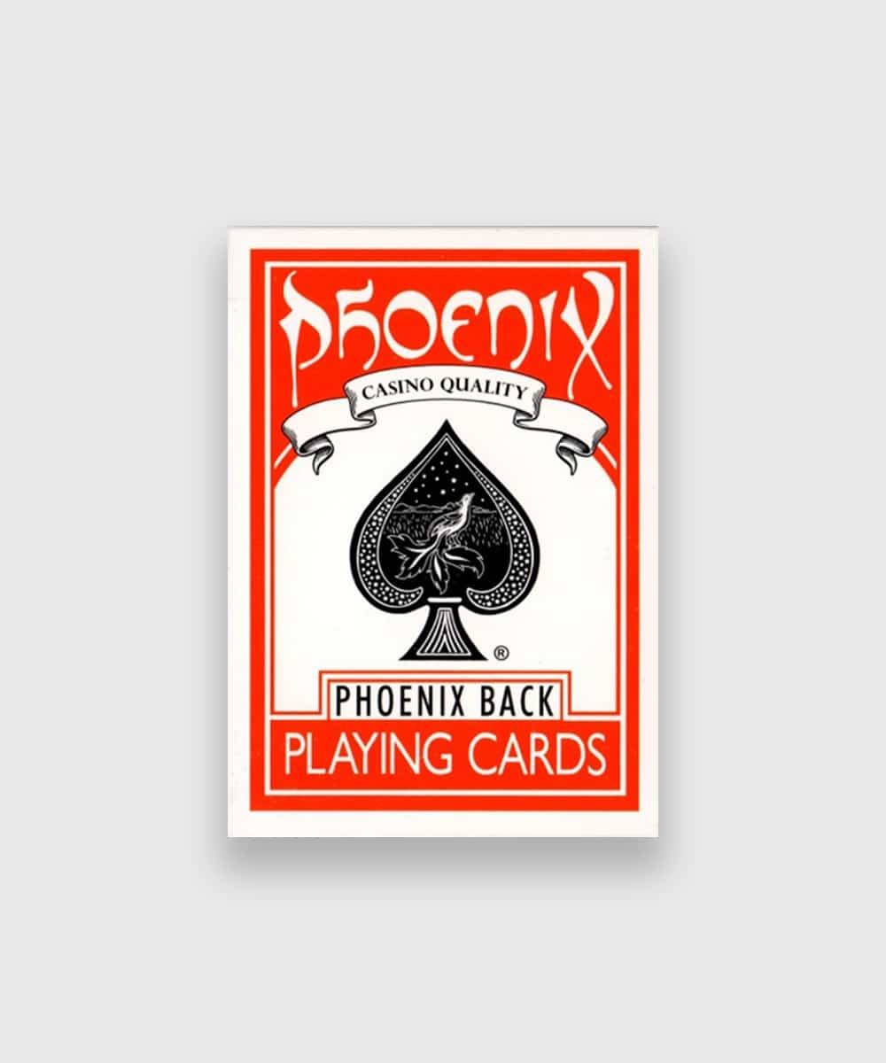 Phoenix Playing Cards Red