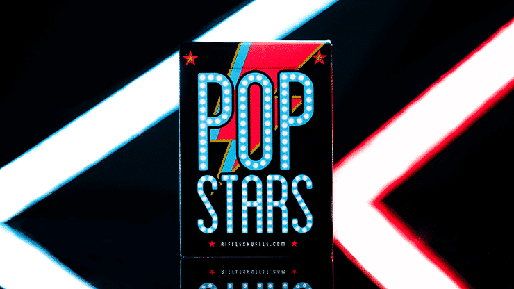Pop Star Playing Cards by Riffle Shuffle Alt1