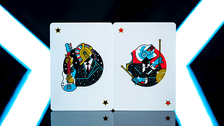 Pop Star Playing Cards by Riffle Shuffle Alt2
