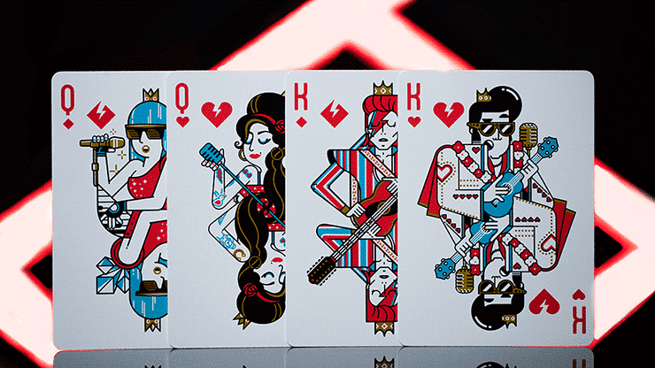 Pop Star Playing Cards by Riffle Shuffle Alt4
