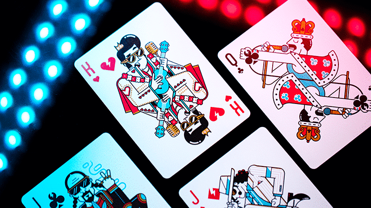Pop Star Playing Cards by Riffle Shuffle Alt6
