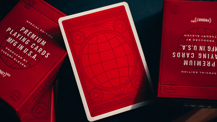Red Special Edition Playing Cards Alt2