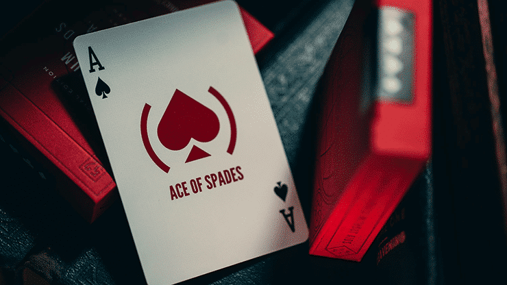 Red Special Edition Playing Cards Alt5