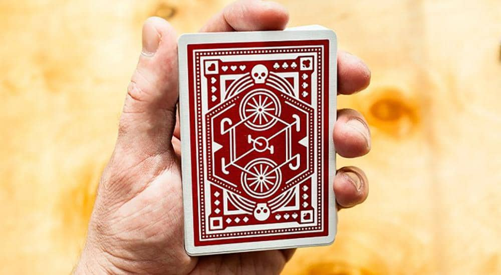 Red Wheel Playing Cards by Art of Play Alt2