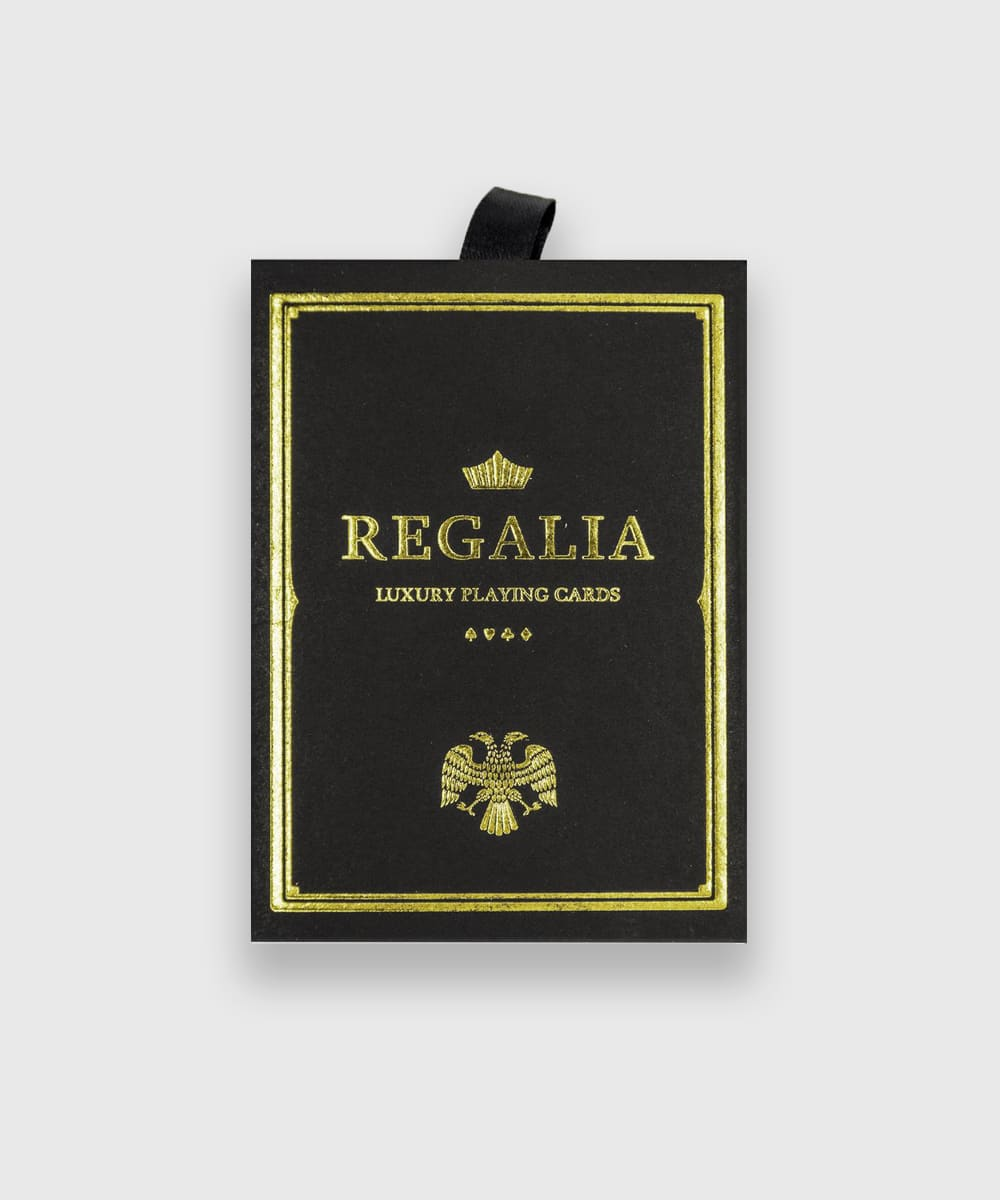 Regalia Black Playing Cards Shin Lim Galerie