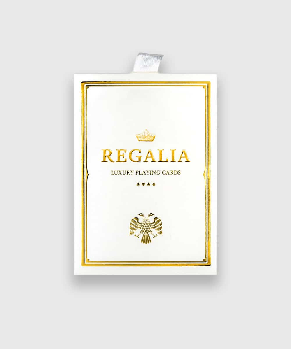 Regalia White Playing Cards Galerie