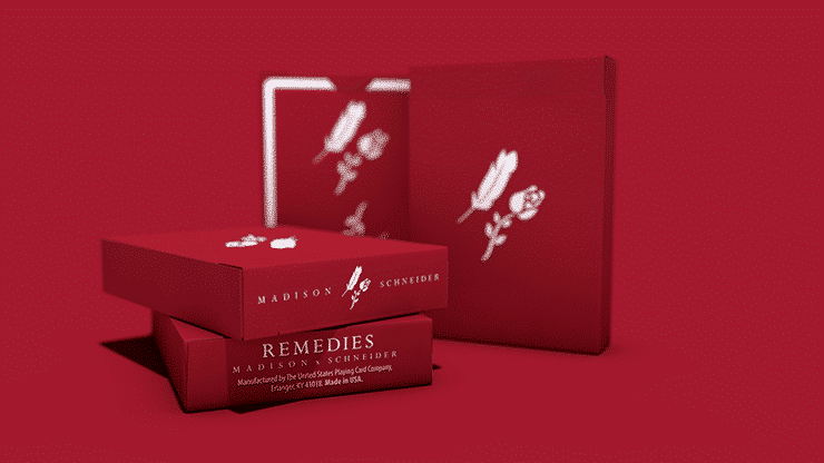 Remedies Playing Cards by Madison x Schneider Alt1