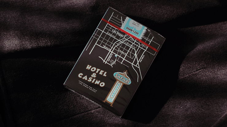 Safari Casino Black Playing Cards by Gemini Alt1