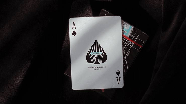Safari Casino Black Playing Cards by Gemini Alt4