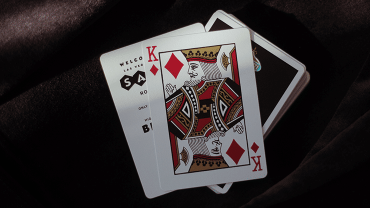 Safari Casino Black Playing Cards by Gemini Alt5