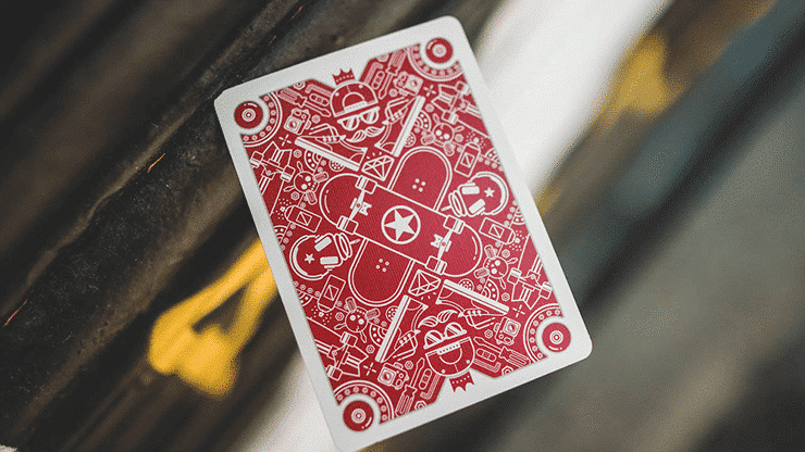 Skateboard V2 Playing Cards Alt1