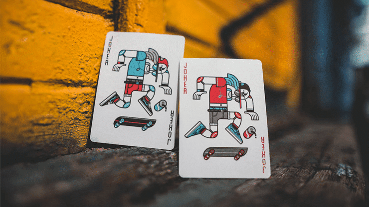 Skateboard V2 Playing Cards Alt2