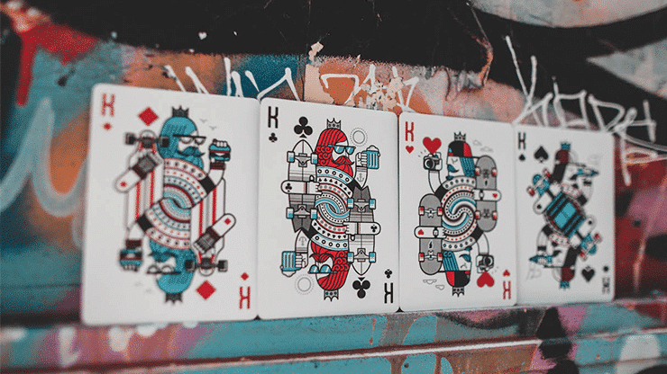 Skateboard V2 Playing Cards Alt4
