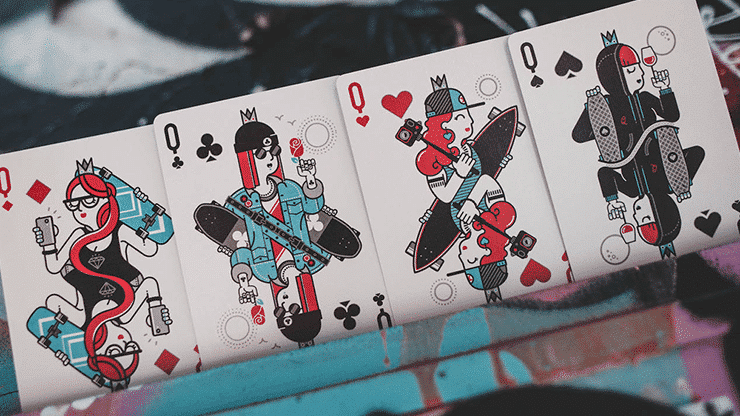 Skateboard V2 Playing Cards Alt5