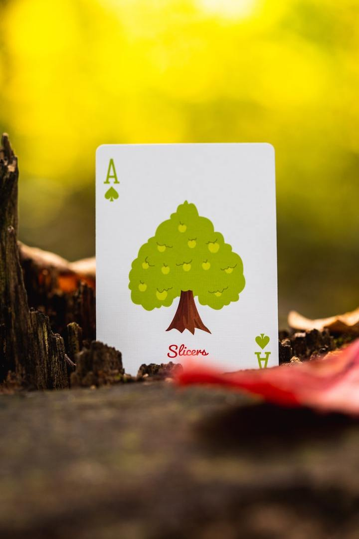 Slicer Playing Cards by Riffle Shuffle Alt7