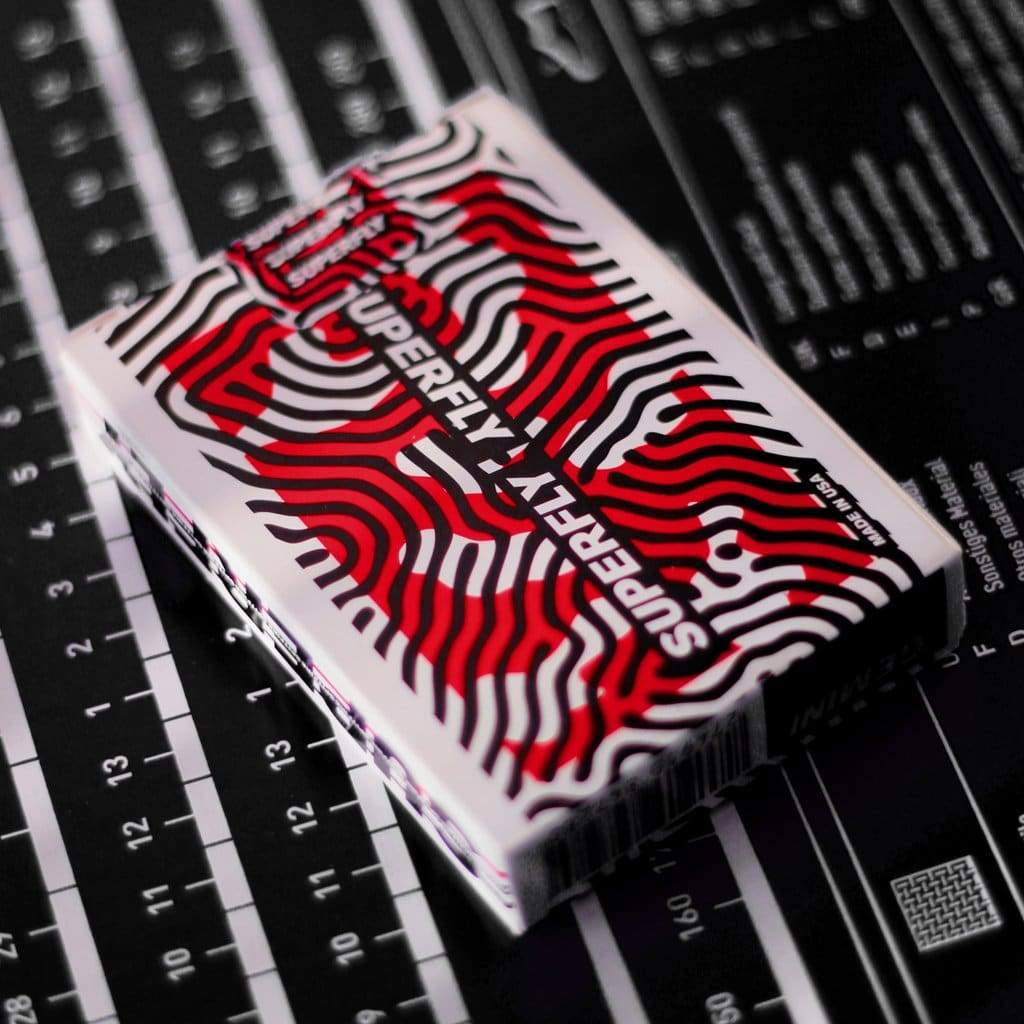 Superfly Spitfire Red Playing Cards Alt2
