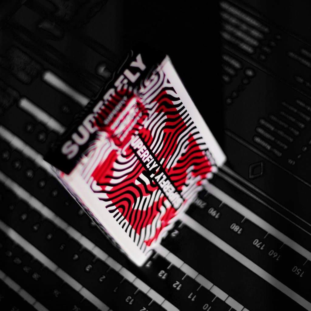 Superfly Spitfire Red Playing Cards Alt3