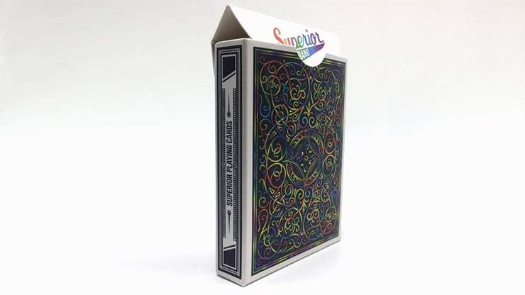 Superior (Rainbow) Playing Cards by Expert Playing Card Co Alt3