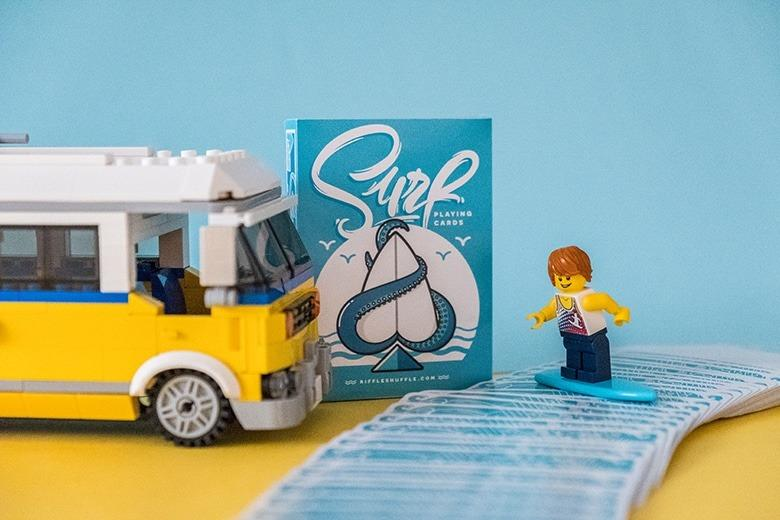 Surf Playing Cards by Riffle Shuffle Alt1