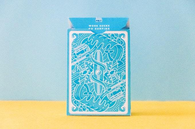 Surf Playing Cards by Riffle Shuffle Alt5