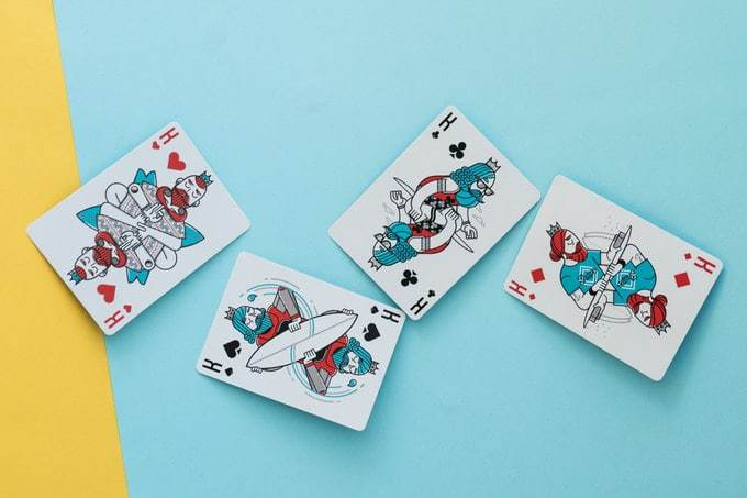 Surf Playing Cards by Riffle Shuffle Alt7