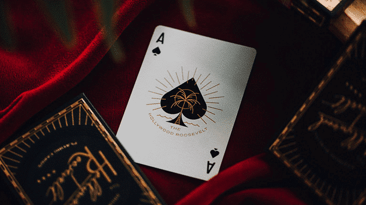 The Hollywood Roosevelt Playing Cards by theory11 Alt4