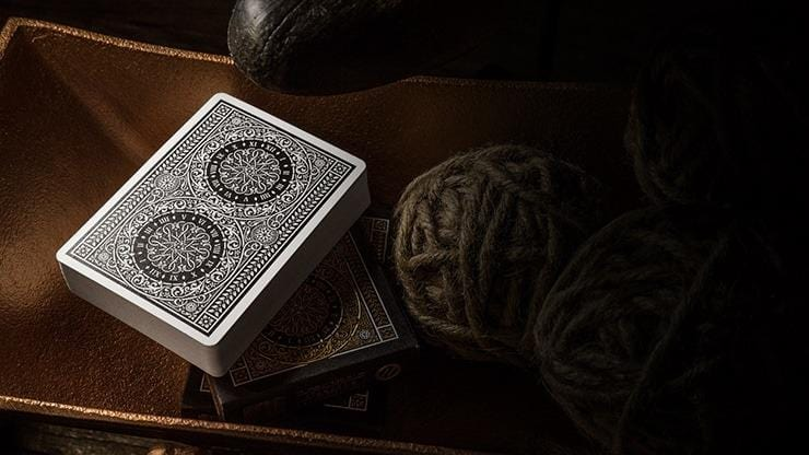 Tycoon Playing Cards (Black) by theory11 Alt3