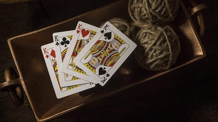 Tycoon Playing Cards (Black) by theory11 Alt6