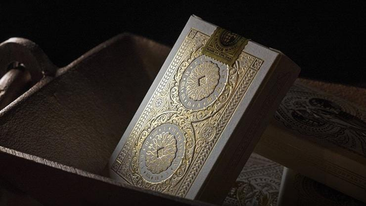 Tycoon Playing Cards (Ivory) by theory11 Alt2