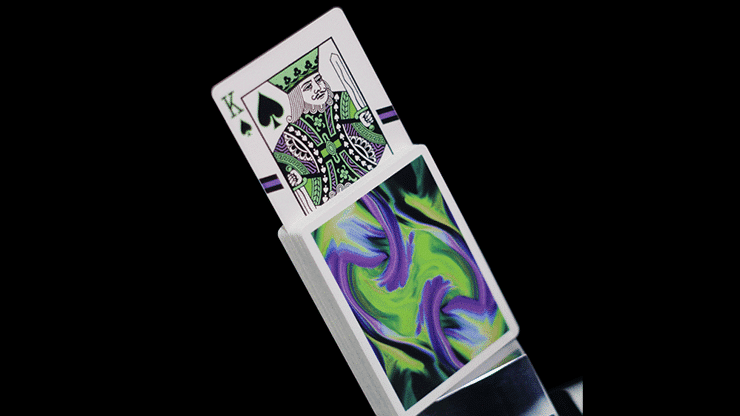 Ultra Green Playing Cards by Gemini Alt2
