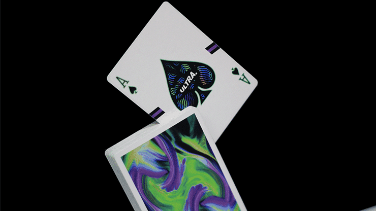 Ultra Green Playing Cards by Gemini Alt3