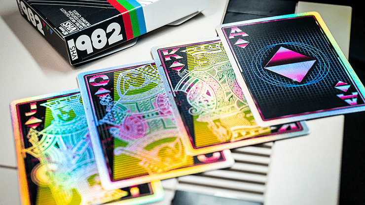 VHS 1982 Playing Cards by Kings Wild Project Alt4