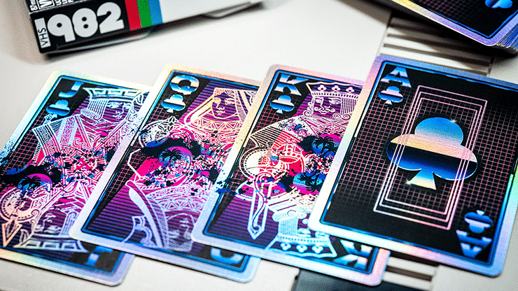 VHS 1982 Playing Cards by Kings Wild Project Alt5