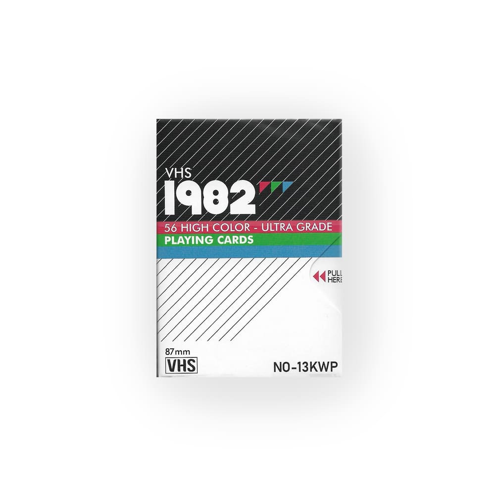 VHS 1982 Playing Cards by Kings Wild Project