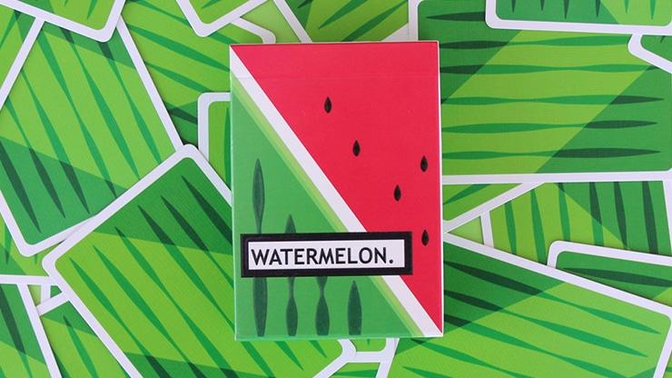 Watermelon Playing Cards Created by FLAMINKO Playing Cards Alt1