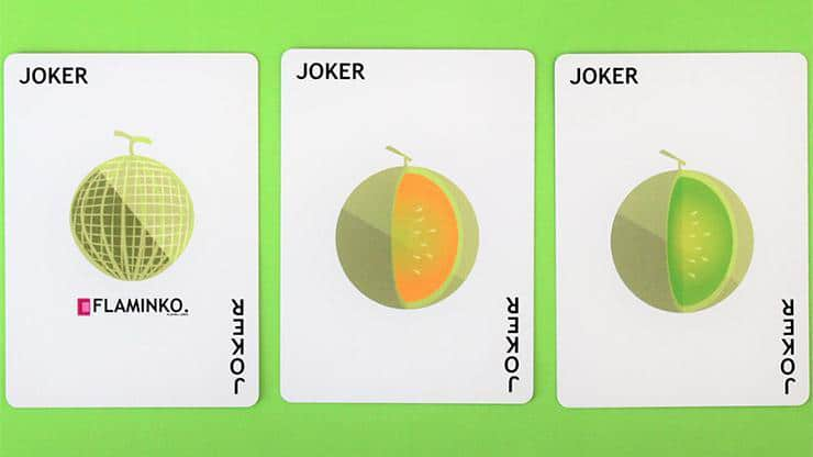 Watermelon Playing Cards Created by FLAMINKO Playing Cards Alt2