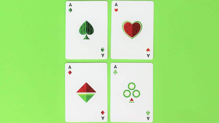 Watermelon Playing Cards Created by FLAMINKO Playing Cards Alt4
