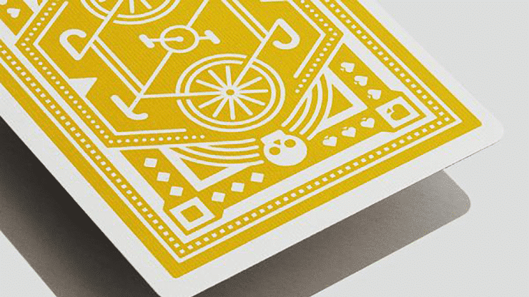 Yellow Wheel Playing Cards Alt2