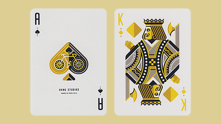 Yellow Wheel Playing Cards Alt3
