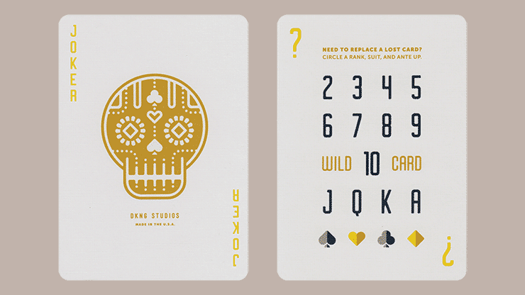Yellow Wheel Playing Cards Alt4