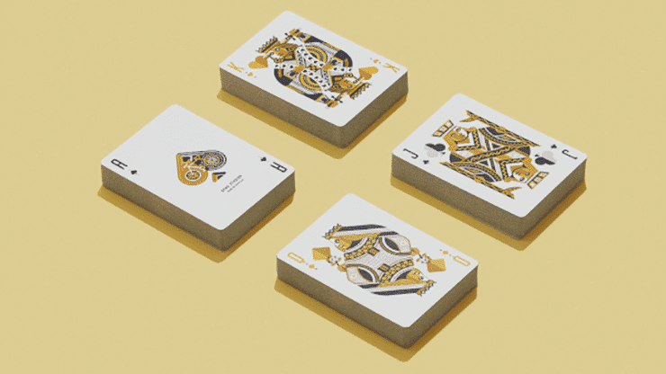 Yellow Wheel Playing Cards Alt5