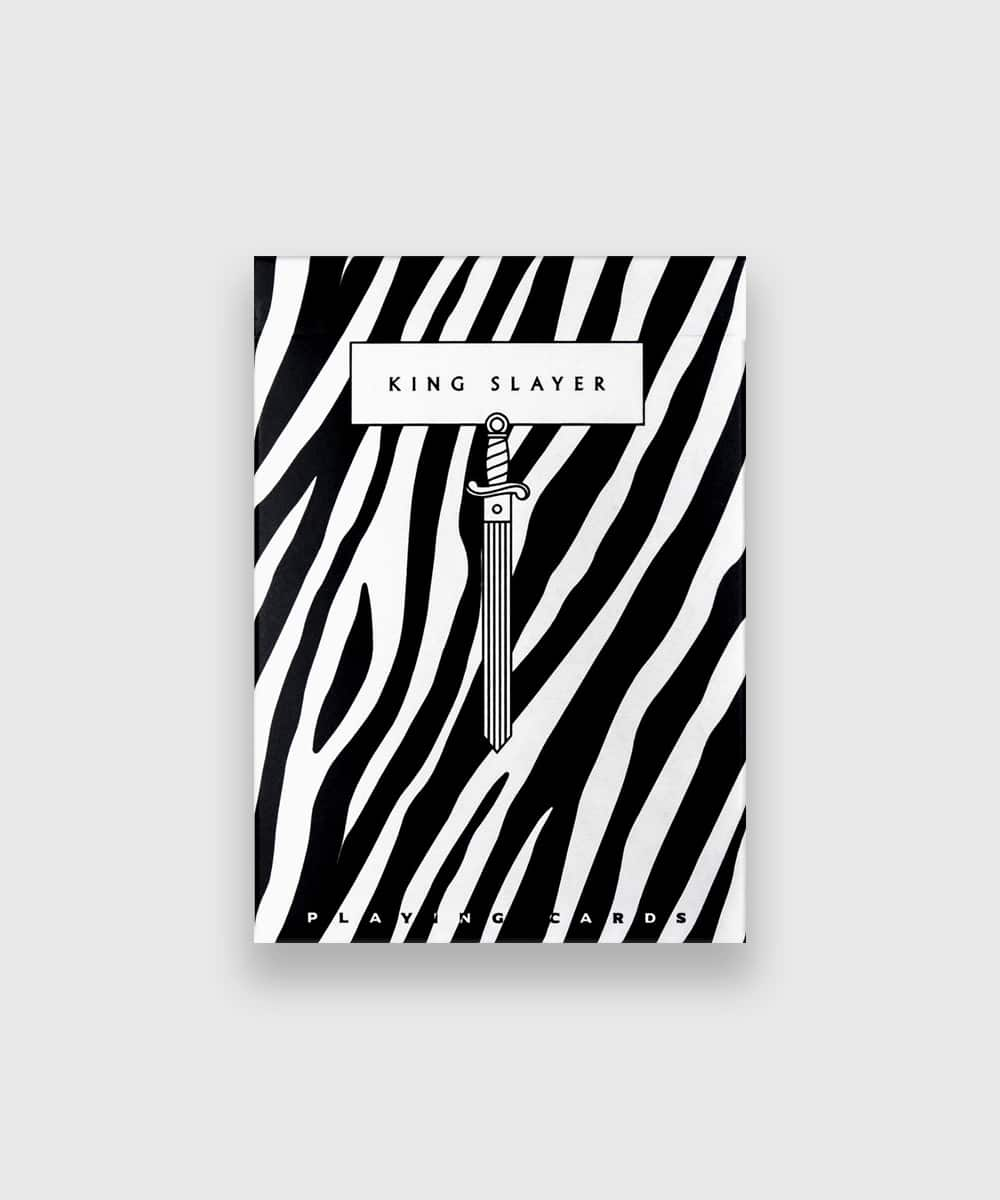 Zebra King Slayer Playing Cards Galerie