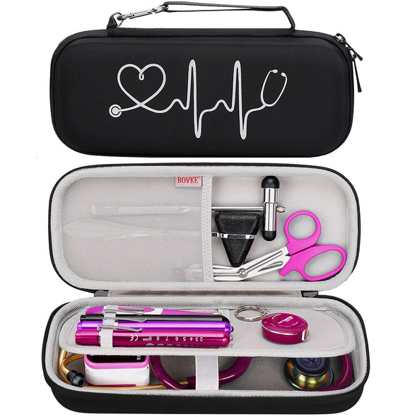 BOVKE Travel Case for 3M Littmann Lightweight II S.E Stethoscope