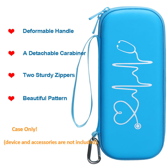 BOVKE Carrying Case for 3M Littmann Cardiology IV Diagnostic Stethoscope